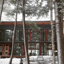Lorimer Lake cottage provides cozy shelter in all seasons